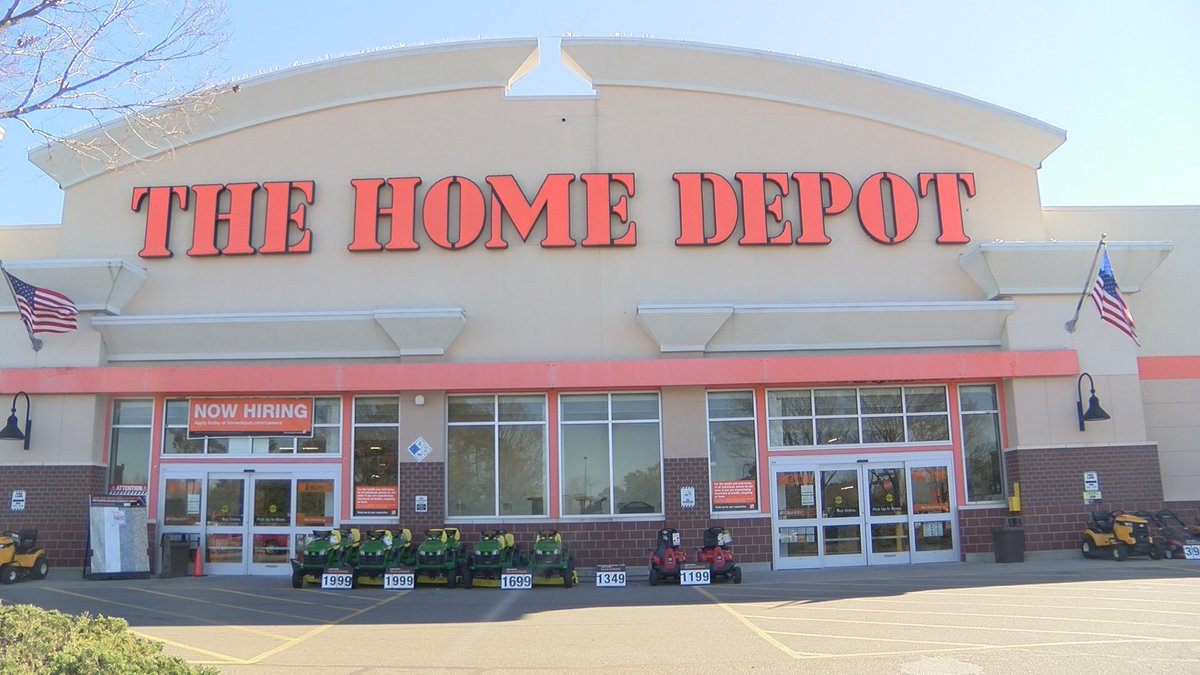 The Home Depot where Gage works