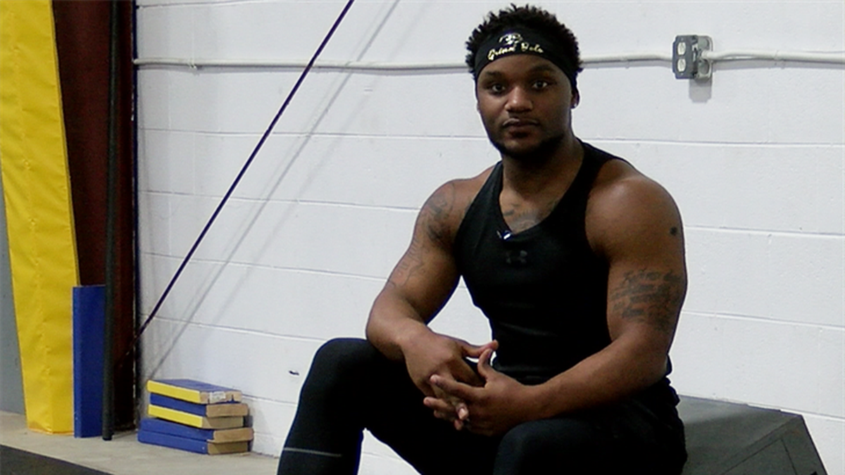 """Kevon White hopes to become the next """"American Ninja Warrior."""" (Source: NBC12)"""