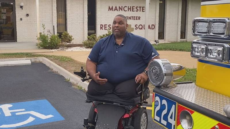 Brad Hughes lost both of his legs in a after being struck by a vehicle while assisting police...