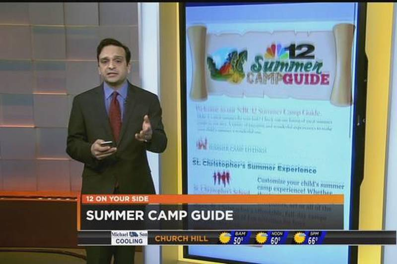 NBC12's Summer Camp Guide keeps kids busy