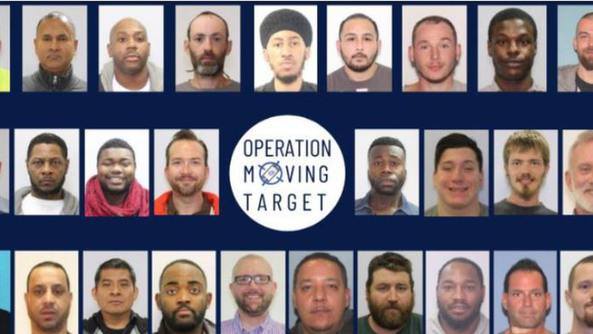 27 alleged sexual offenders arrested in 'Operation Moving Target'