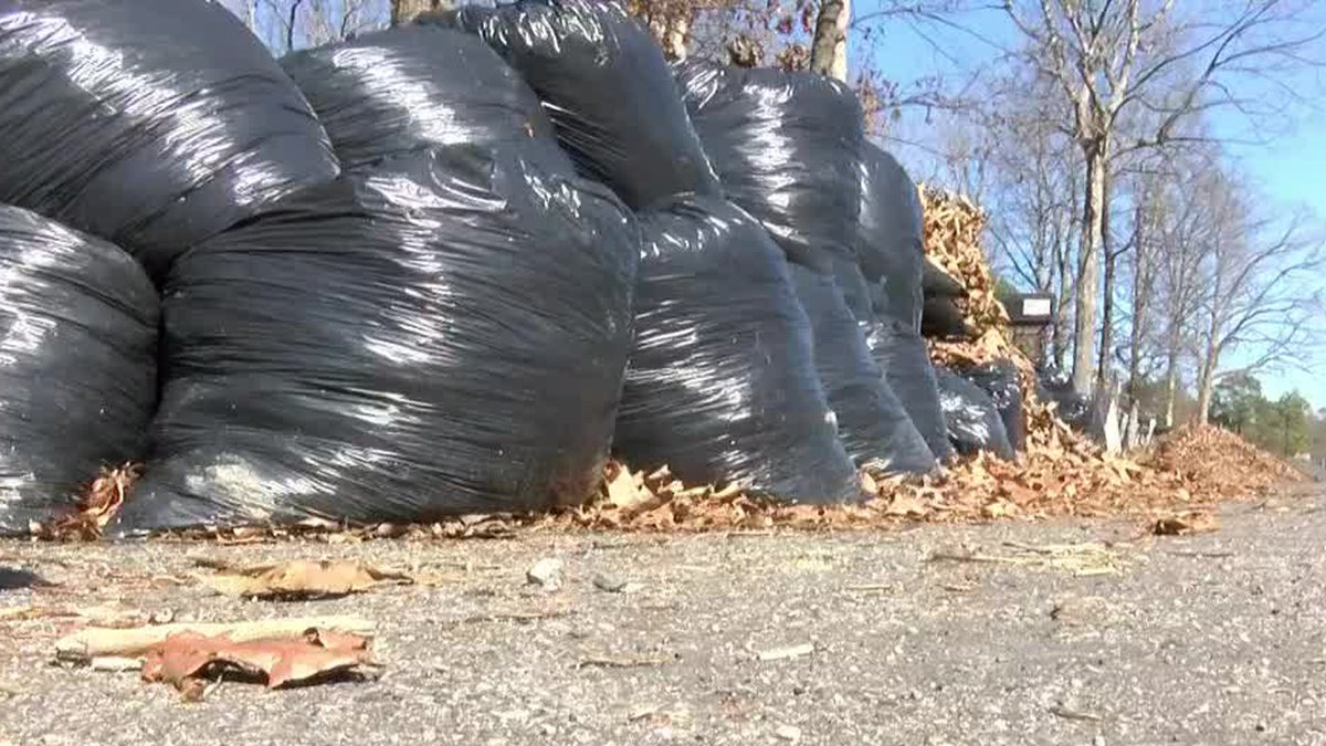 Leaf collection is under way in the city of Richmond.