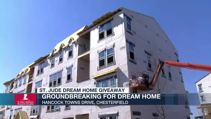St Jude Dream Home Giveaway: Groundbreaking for Dream Home
