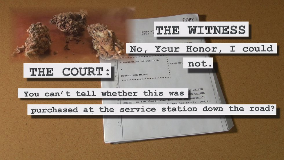 NBC12 obtained a copy of the hearing transcript, which includes the witness telling the judge...