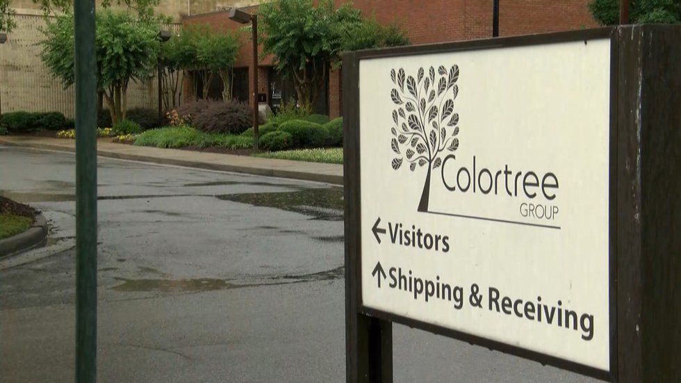 Colortree employees say they weren't paid Friday following the company's abrupt closure Monday...