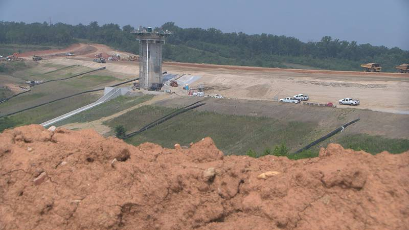 Cobb's Creek Reservoir in Cumberland County should be operational in 2023.