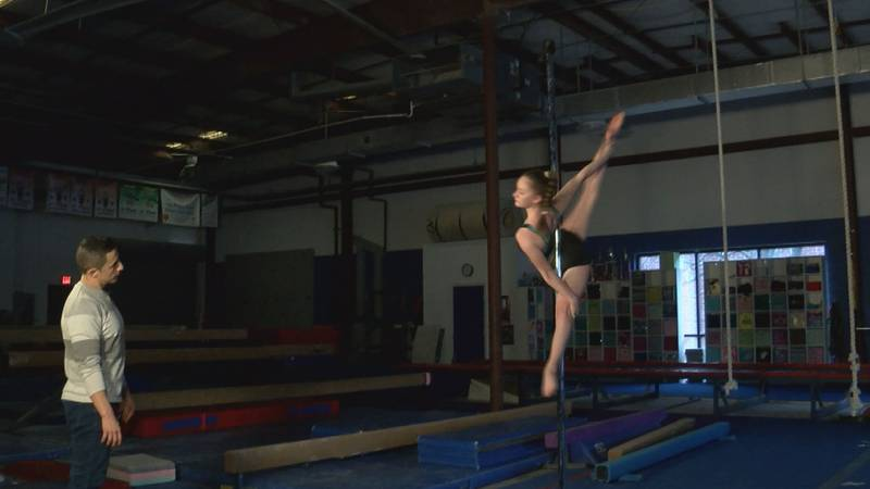 14-year-old world champion pole sport competitor aims to change perception of sport