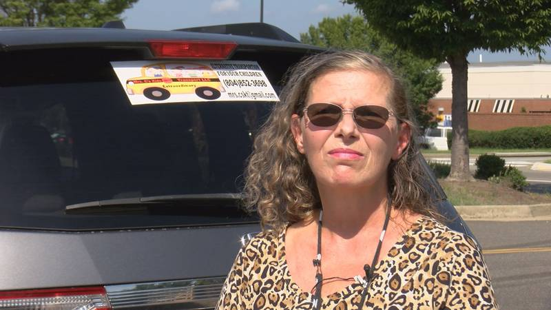 Cheryl Whalon's business is called Mrs. C's kids Transport LLC. She started it three weeks ago...
