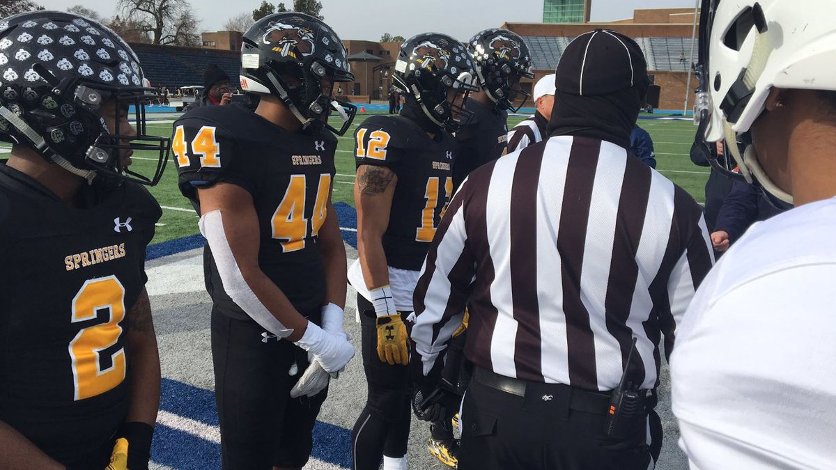 Highland Springs topped Stone Bridge 37-26 to win its fourth straight state title. (Source:...