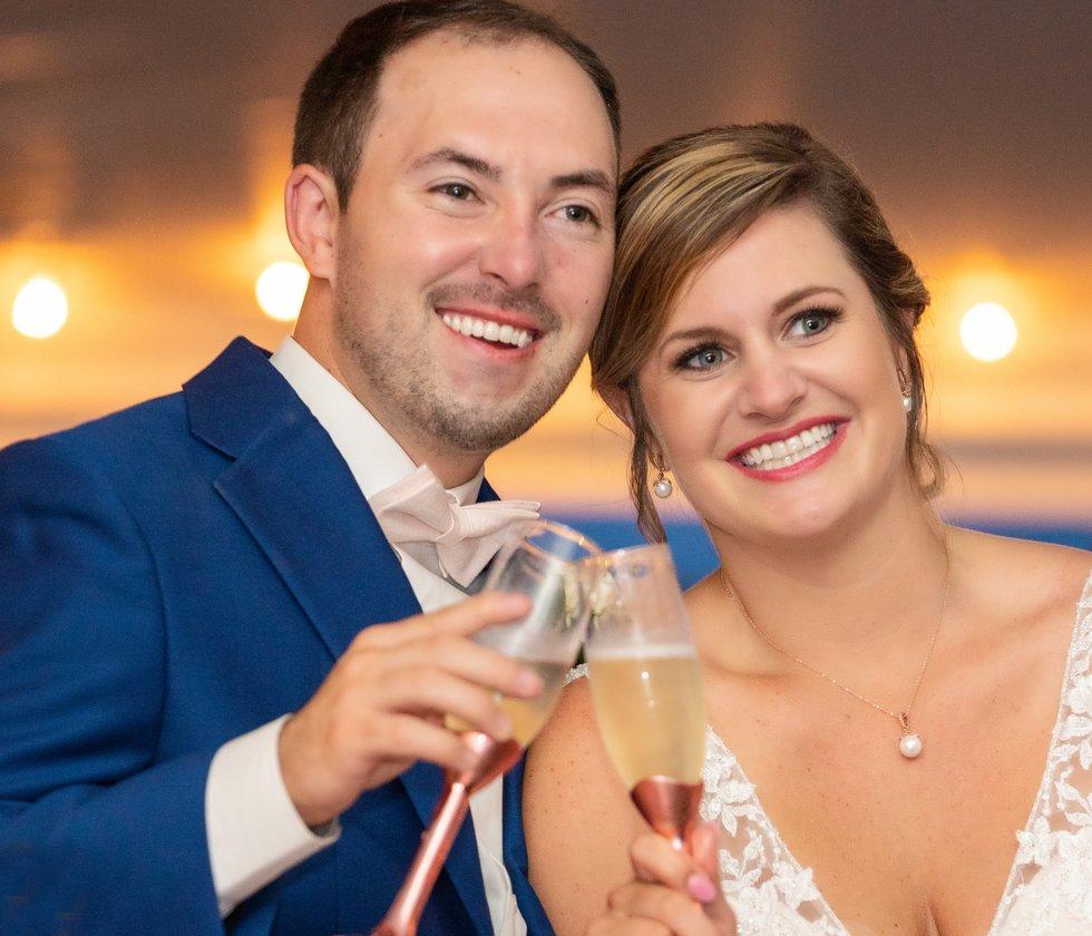 Derek & Skylar Martin were married June 8, 2019 (Source: Peggy Rogerson Photography)