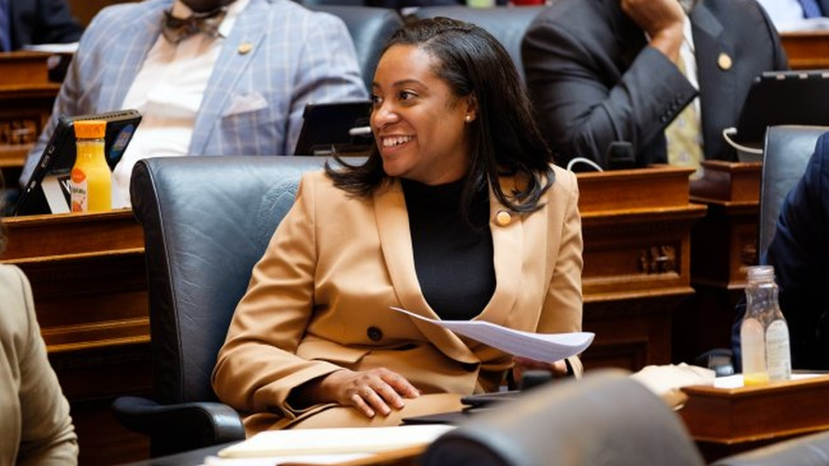 Del. Jennifer Carroll Foy, D-Prince William, filed paperwork to run for governor.