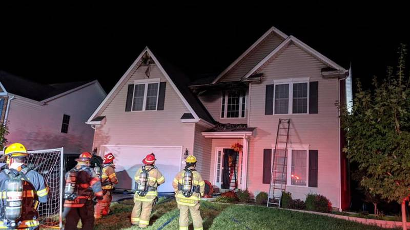 Firefighters say all seven occupants of the home made it out safely thanks to working fire...