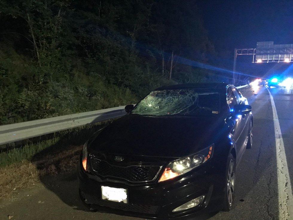 Pedestrian killed on I-64