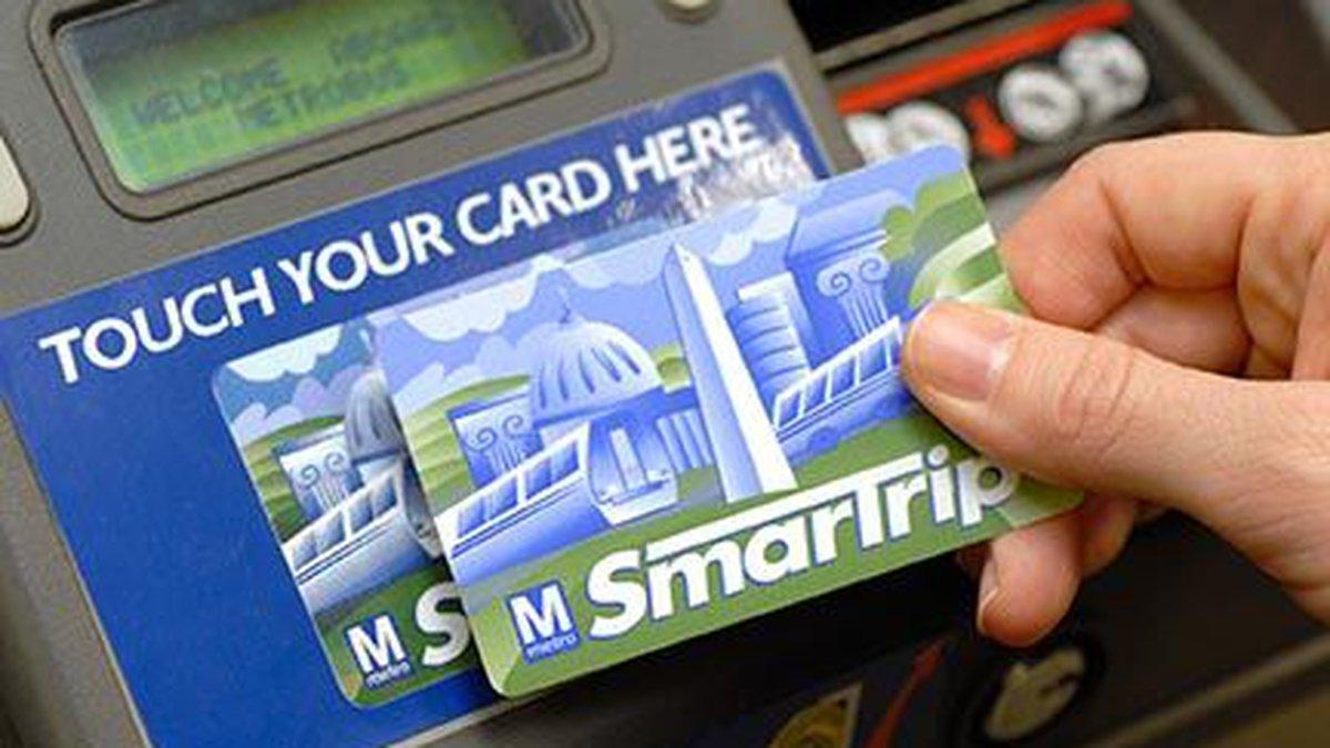 SmarTrip card (Source: WMATA)