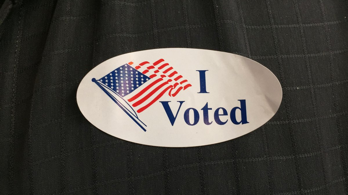 Polls are open until 7 p.m. Tuesday. (Source: NBC12)