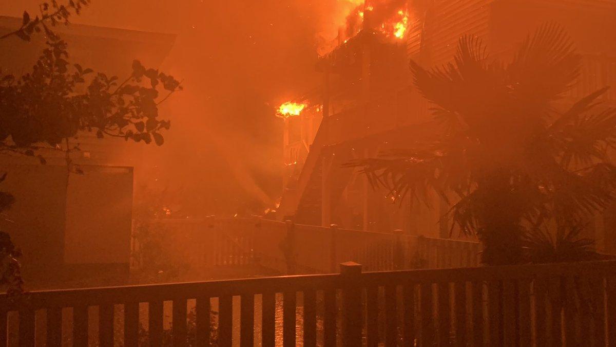 Fires in Ocean Isle Beach