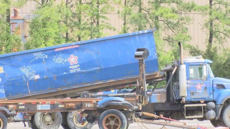 Sanitation crews are continuing to work around the clock as the COVID-19 pandemic continues in...