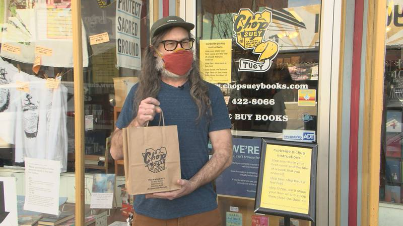 One year into the pandemic, a Carytown bookstore is crediting creativity and community with...
