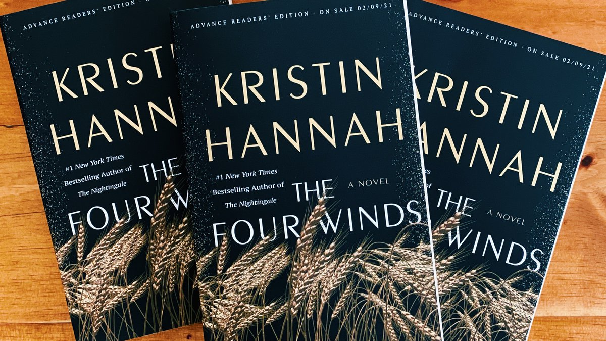 We are giving lucky viewers the chance to win a copy of The Four Winds. Plus, one grand prize...