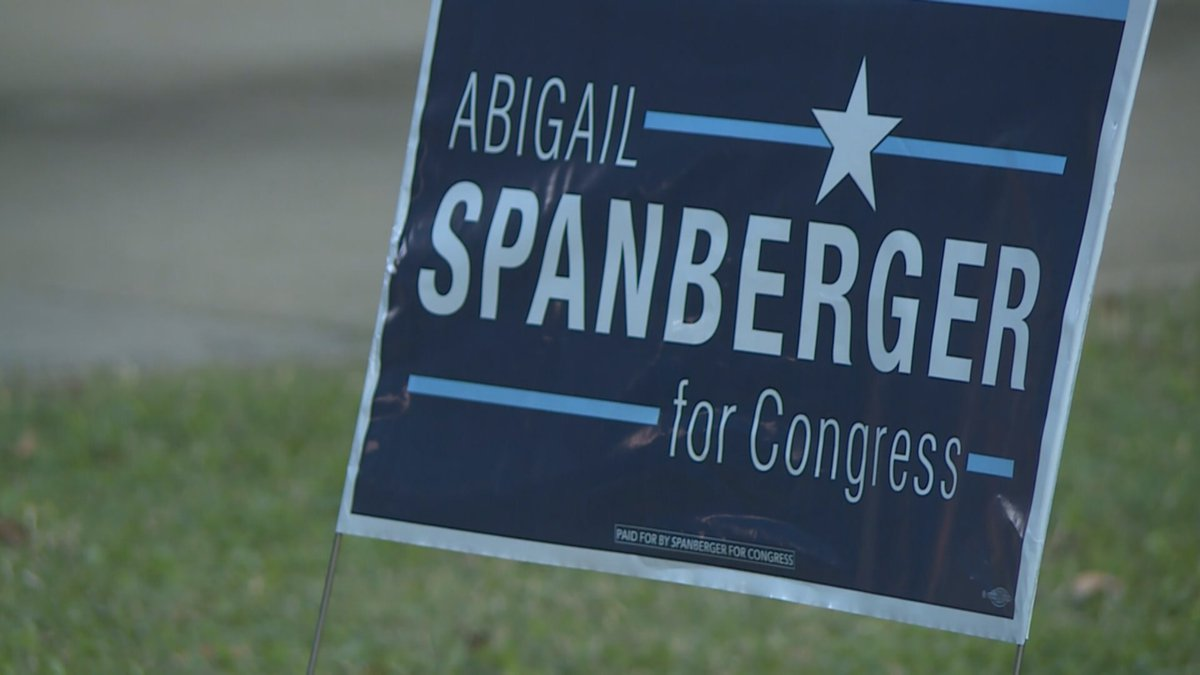 Rep. Abigail Spanberger, narrowly winning re-election to congress in VA-07, says Democrats have...