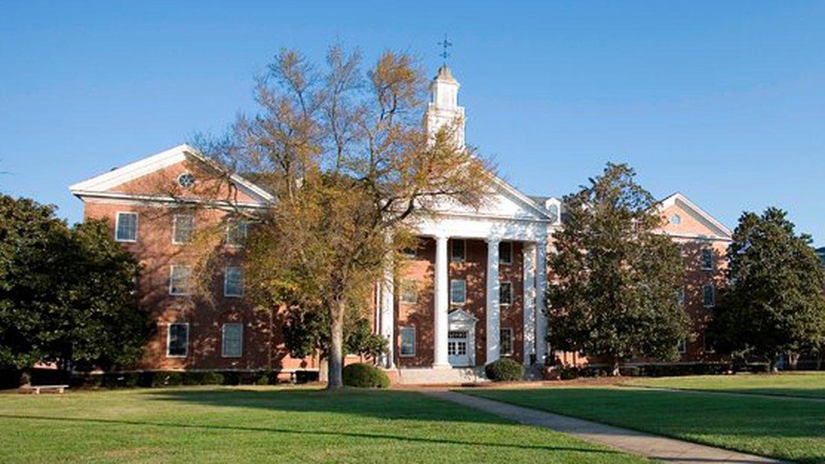 Virginia State University, a historically-Black school in Ettrick.