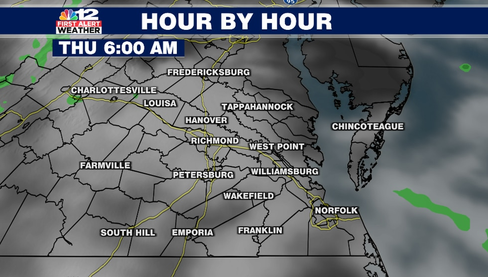 A mostly cloudy sky early Thursday morning threatens to block the view of a partial solar...