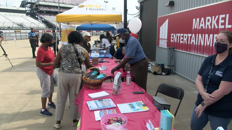 Multiple events were held across the region, including one at Richmond Raceway.