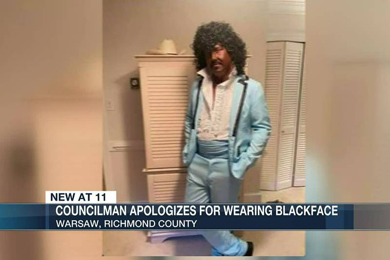 Warsaw councilman apologizes for blackening face to portray movie character
