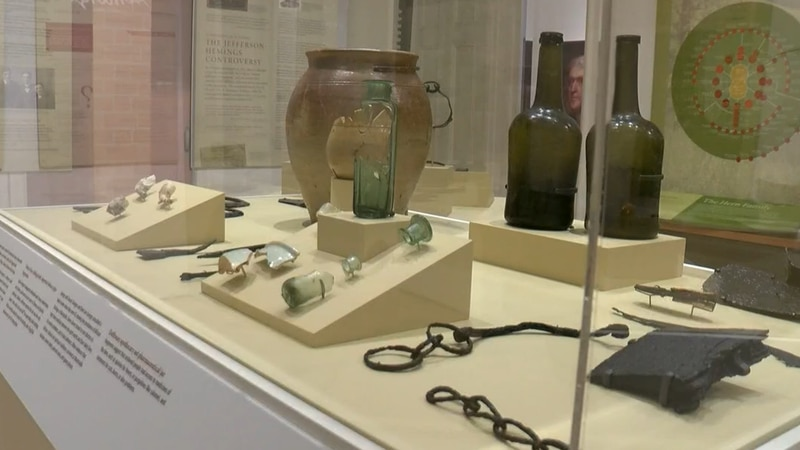 Nearly 350 artifacts and pictures make up a new exhibit at the Black History Museum and...