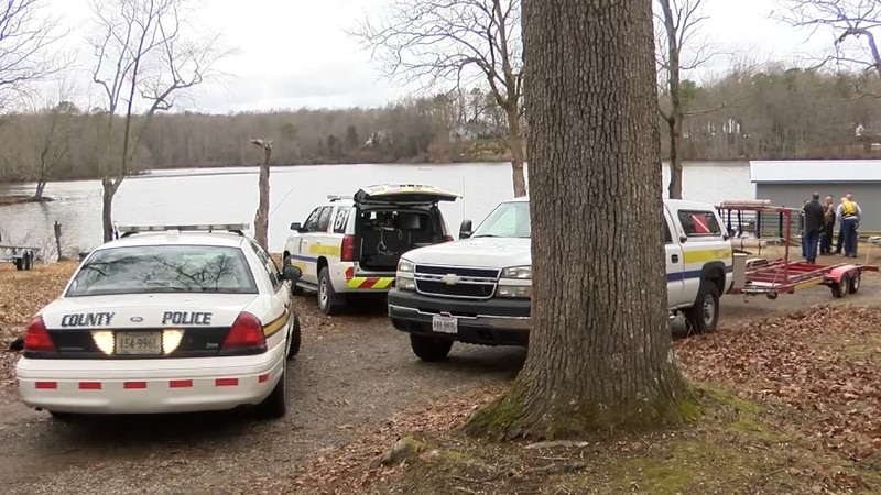 Chesterfield Police are investigating a floating jacket found in the Gregory Pond.