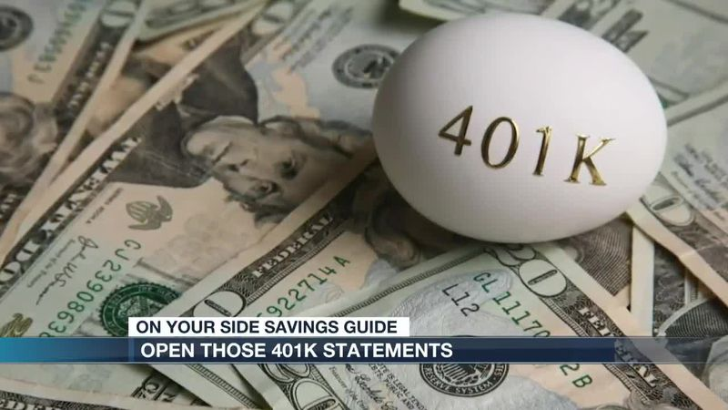 Be sure to get in the habit of opening your 401K statements
