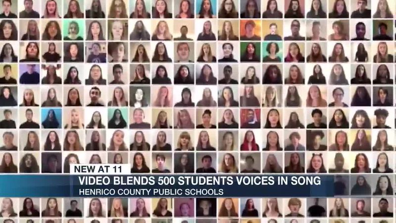 Video blends 500 student voices in 'Bridge Over Troubled Water' rendition