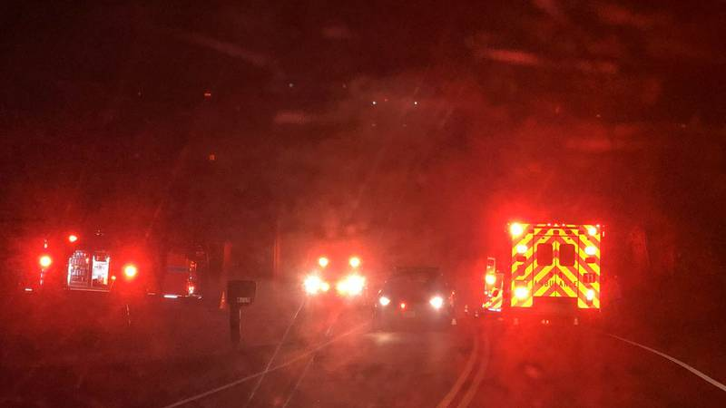 Chesterfield fire officials are on scene of a house fire on Belmont Road.