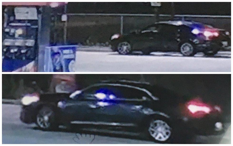 The man was last seen getting into a newer model, dark colored, four door sedan.
