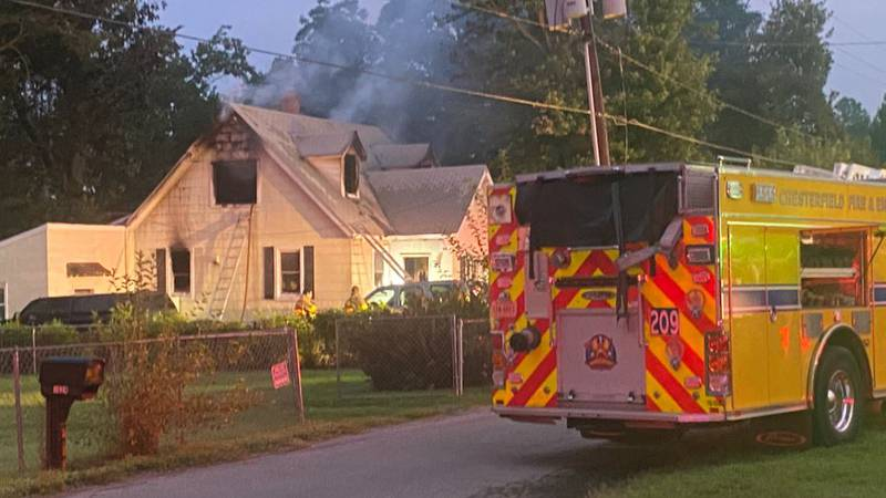 Two children are dead and three other family members injured following a massive house fire in...