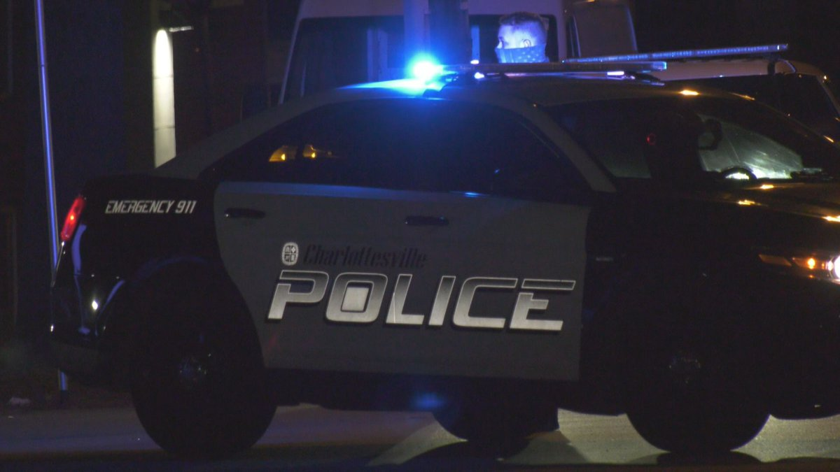 Charlottesville police respond to shots fired on Prospect Avenue.