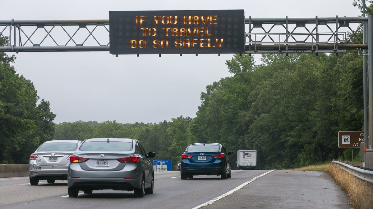 The state transportation board says that while fewer people have been on the roads due to...