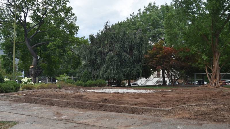Crews completed the removal of the base to Charlottesville's Robert E. Lee statue Wednesday,...