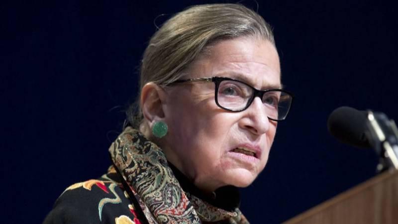 Ruth Bader Ginsburg died Friday.