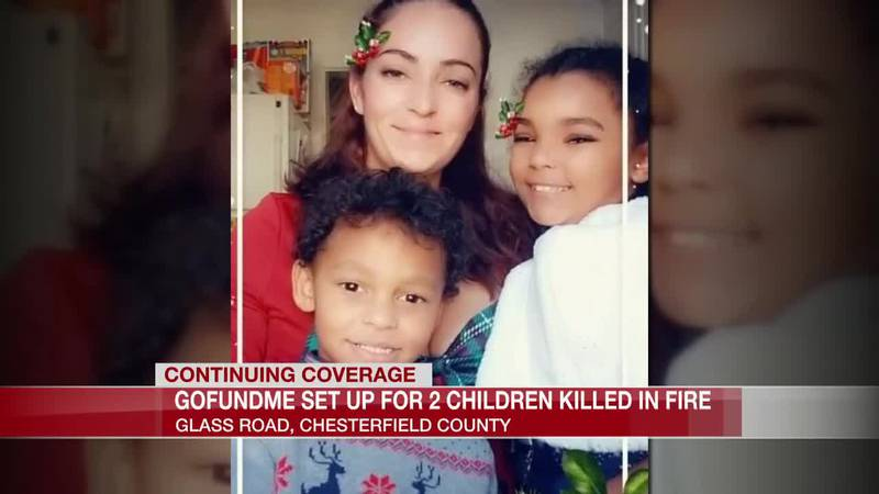 GoFundMe set up for two children killed in fire