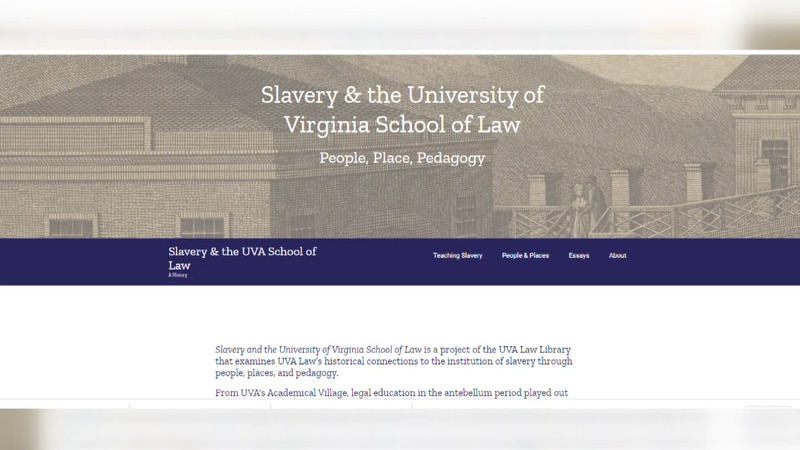 Digital archive by the UVA School of Law