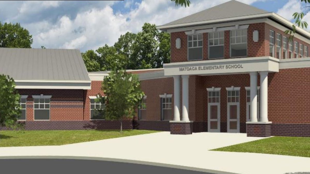 The ceremony for the new Matoaca Elementary School will be the seventh groundbreaking in the...