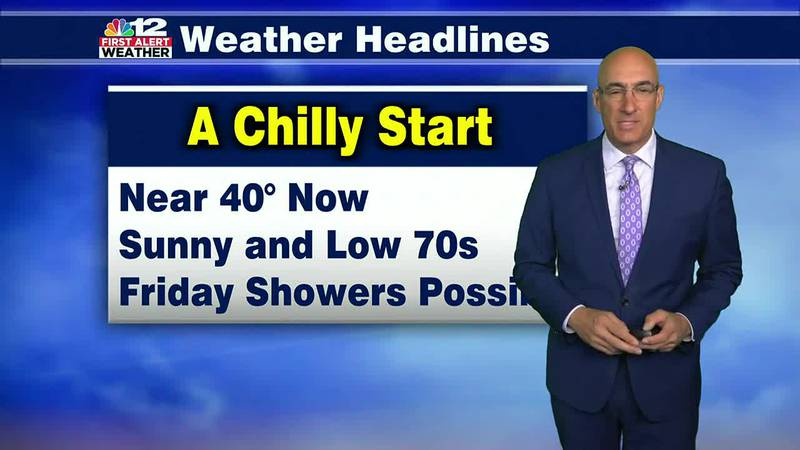 Tuesday Forecast: A chilly start, then a gorgeous October day