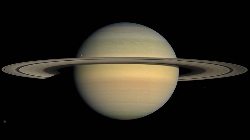 Saturn will switch motions on Monday.