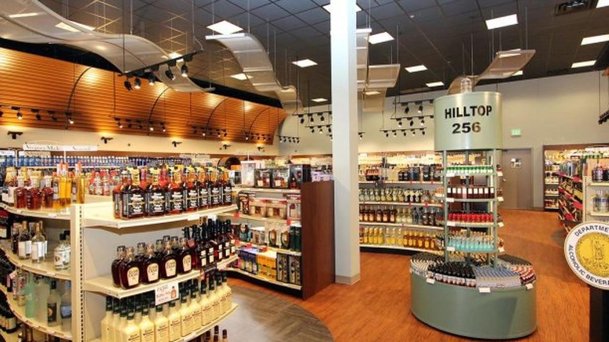 A Virginia ABC store.