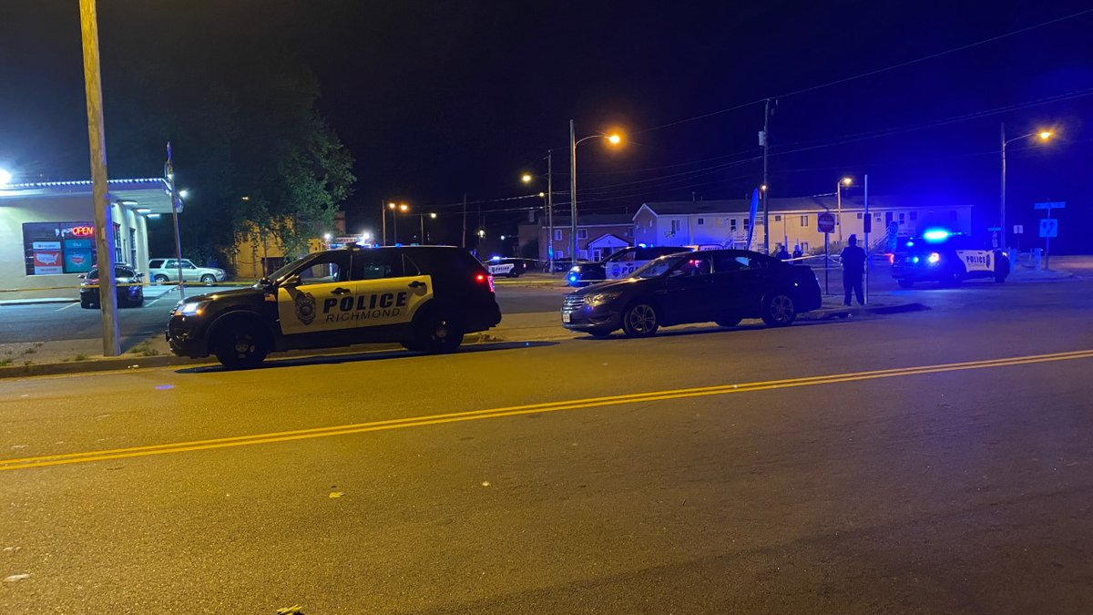 Richmond police investigating a shooting in the city's northside that injured two people.