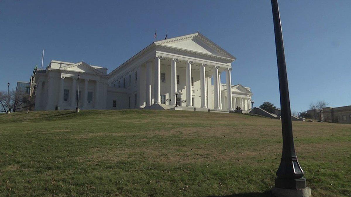 Virginia State Capitol Building (FILE)