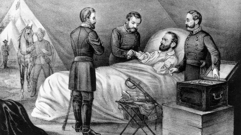 On this day in history, May 10, 1863, Confederate General Stonewall Jackson died 8 days after...
