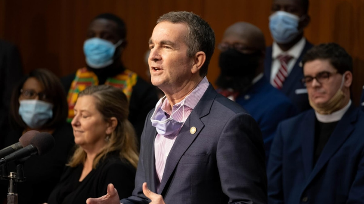 Gov. Ralph Northam outlined plans Thursday to remove a state-owned statue of Confederate Gen....