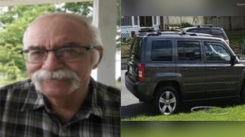 Rodney Dwight Turnboo, 79, is missing from Harrisonburg and may be driving a dark gray Jeep...